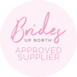 Brides up north badge